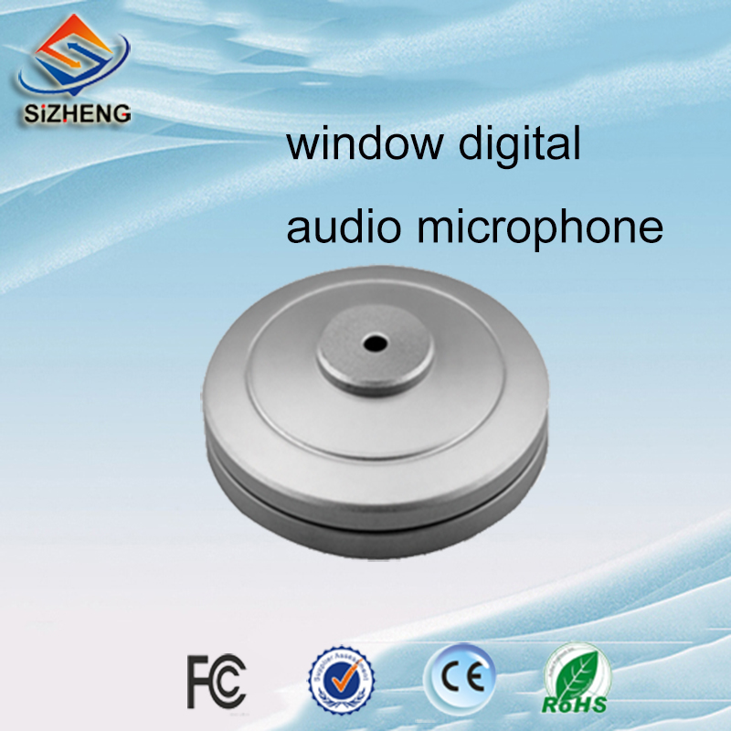SIZHENG COTT S1 Audio surveillance CCTV microphone bank window security product people voice pick up for security solutions in CCTV Microphone from Security Protection
