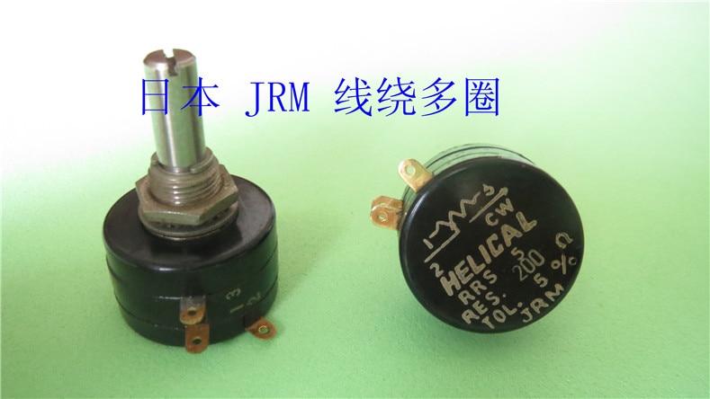HELICAL Imported Japan JRM RRS5 RRS 5 multi-circle 5 ring potentiometer 100R 200R 500R 1K 10K helical japan jrm rrs10 multiturn potentiometer 100r 500r 1k 50k 100k switch