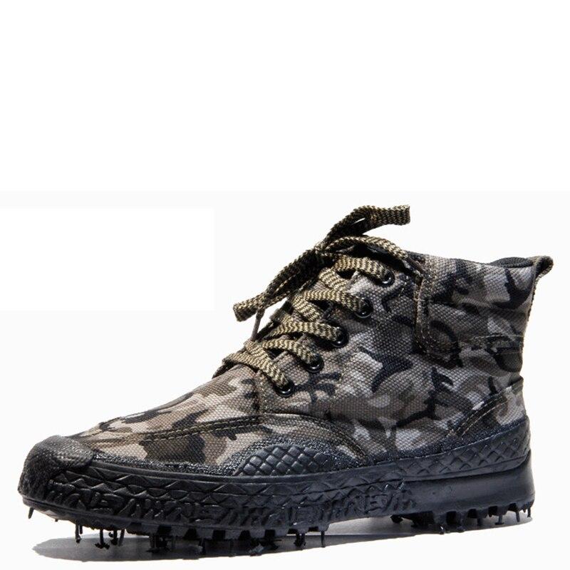 2017 Military Tactical Boots Camouflage Army kamuflaj bot Combat asker ot Men Espadrilles Botas Hombre rangers
