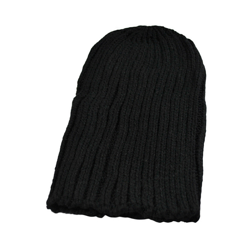 e5cfc569869 New Men and Women Unisex Casual Kniting hat wool hat Winter Hat Woollen Hat  Stocking Cap-in Skullies   Beanies from Apparel Accessories on  Aliexpress.com ...