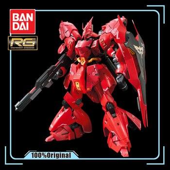 Bandai Assembled Model Gundam RG 29 1/144 MSN-04 Sazabi Sharjah Gundam Action Figure Kids Toy Gifts