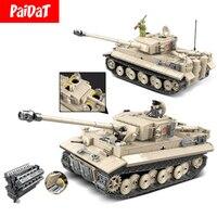 Building Blocks Kits 100061 100062 100069 100071 World War II WW2 Military Tank Legoing Technic Figure Toys Bricks Children Gift