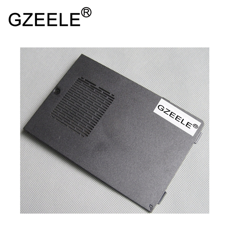 GZEELE New Memory RAM Cover For Dell For Inspiron 15R M5110 N5110 M511R Bottom Base Cover Memory Door Bottom HDD Cover Black