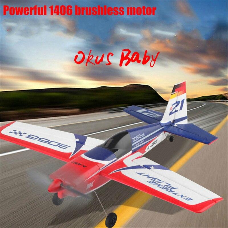 2019 tout nouveau X4 émetteur RC avion 2.4G 5CH Brushless 3D6G système avion Compatible avec FUTABA S-FHSS avion RC planeur