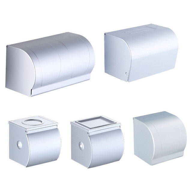 Modern high quality Toilet Paper Holders Wall-mounted Waterproof Roll paper box toilet paper bathroom Hardware accessories