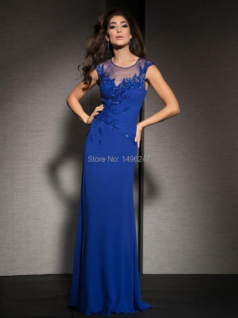 Popular Tight Long Sleeve Blue Dress-Buy Cheap Tight Long Sleeve ...