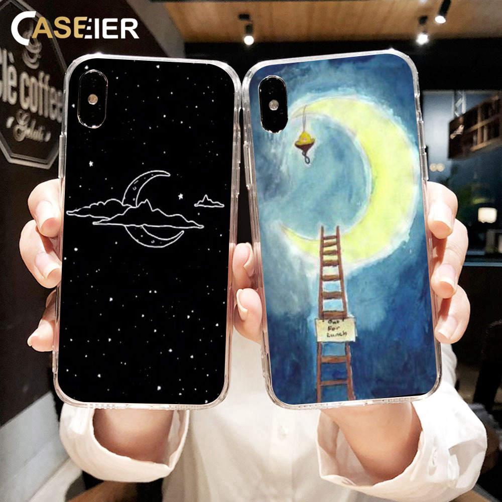Constructive Caseier Ramadan Moon Phone Case For Iphone Xr Xs Max X 7 8 6 6s Plus Muslim Islamic Ramadan Case For Iphone X Xs Max 7 8 6 Funda Clear And Distinctive Cellphones & Telecommunications Half-wrapped Case