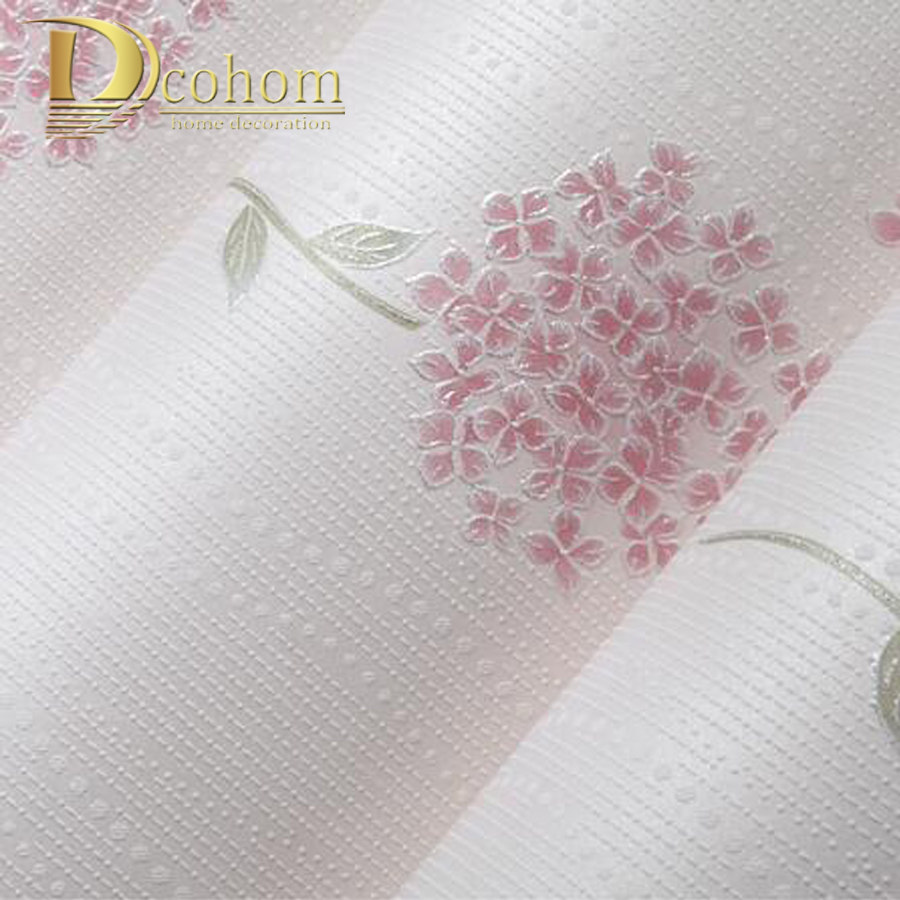 Simple Pastoral Pink Purple 3D Flower Wallpaper For Walls Embossed Floral Wall paper Rolls For Kids Bedroom Living room Decor fifty shades darker delicious tingles перезаряжаемый стимулятор клитора