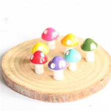 Promotion Water Fountain New 3pcs Mini Cute Mushroom House Styles Landscape Garden Diy Decoration Ornament Home & Fitting