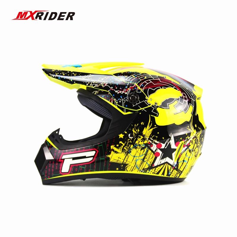 MXRIDER Off Road ATV Cross Helmets MTB DH Racing Motorcycle Helmet Dirt Bike Capacete motocross helmet Free shipping стоимость