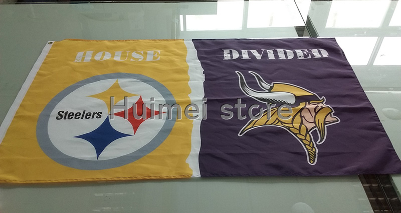 Pittsburgh-Steelers-Minnesota-Vikings-House-Divided-Flag