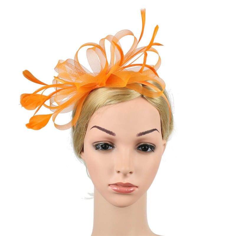 Fascinators Hat for Women Tea Party Headband Fancy Dress Accessories Wedding Hair Accessories For Women Hairband J12# (21)