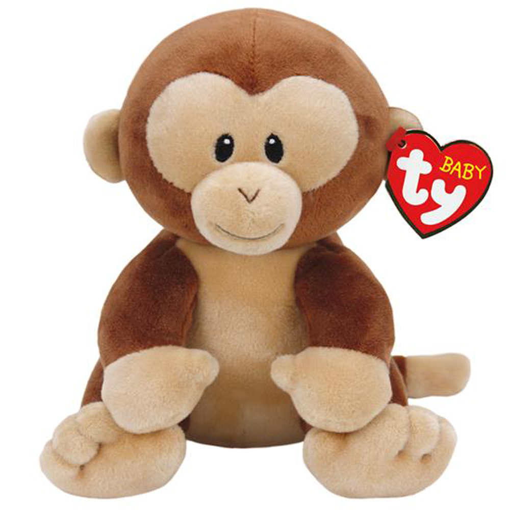 Pyoopeo Baby Ty Collection 7 17cm Banana The Monkey Plush Regular