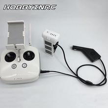 Hobbyinrc 2 в 1 RC Интимные аксессуары автомобиля Зарядное устройство адаптер для Phantom 3 Professional/3 SE Батарея пульта дистанционного управления Новый