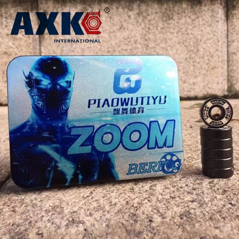 Axk 16pcs Zoom Bearing High Speed Skating Shoe Bearing Skateboard Hand Spinner Skate Roller 8*22*7mm 608 2rs 8x22x7mm 608zz 608 rodamientos ball bearing golden 8x22x7mm 608z ilq 11 608 inline skateboard speed skate bearing roller skating longboard abec11
