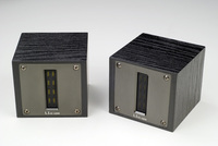 H 007 LARK High pitched Voice Speaker super tweeter speaker 1 way 3 unit ( 18dB/Oct ) With Alloy Panel And Ebony Box 95dB