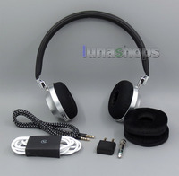 LN005238 Silver Full Metal High end Luxury Edition Series Headphone For Aedle Vk 1 Valkyrie Replacement
