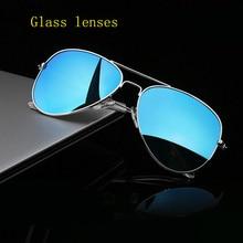 reggaeon high quality glass lens sunglasses women 2020 UV400 Men
