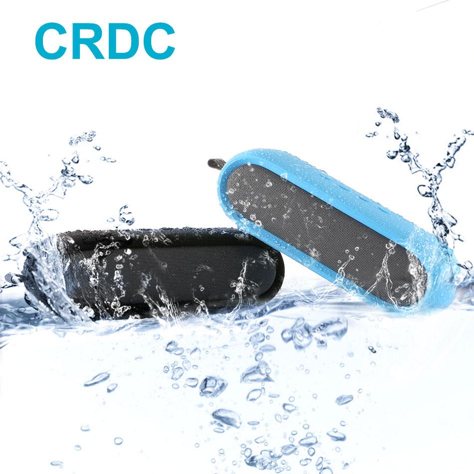 CRDC Portable Wireless Bluetooth Speaker Column Box Bass Mini Speaker Subwoofer Stereo WaterProof Loudspeaker for iPhone Xiaomi цена 2017