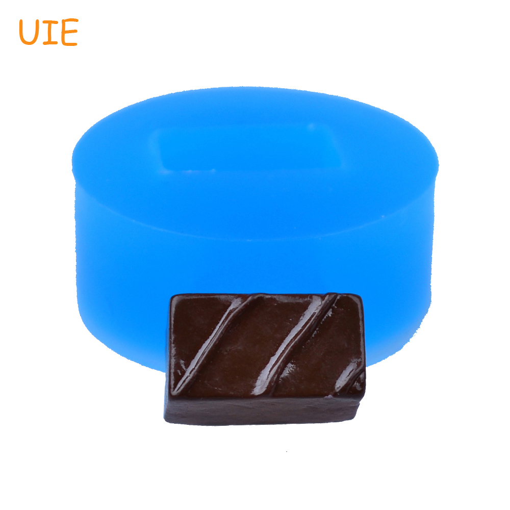 Rectangle Mold Miniature Food Butter Sincere Kyl136u 15.5mm 3d Chocolate Cake Silicone Push Mold Icing Resin Fimo Clay Wax Mold Goods Of Every Description Are Available
