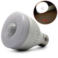 sensor bulb E27 5W Night Bulb PIR Infrared Motion Sensor Detection LED Lamp Light Corridor Hallway Garage Bathroom