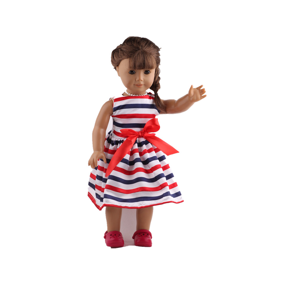 """Free shipping!!! hot 2014 new style Popular 18 inches"""" American girl doll clothes/dress 1236"""