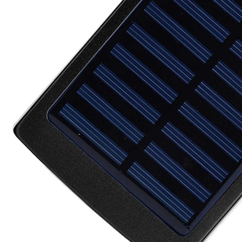علبة بنك طاقة شمسية 18650 صناعة يدوية 5*18650 علبة شاحن علبة باور بانك بمنفذ USB مزدوج بإضاءة LED للهواتف المحمولة