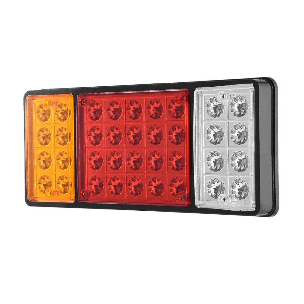 2шт 24В 36LED стоп сигнала поворота большой светлой стороне отражателя Лампа поворота света задний фонарь задний фонарь для автомобиля грузовик прицеп лодка