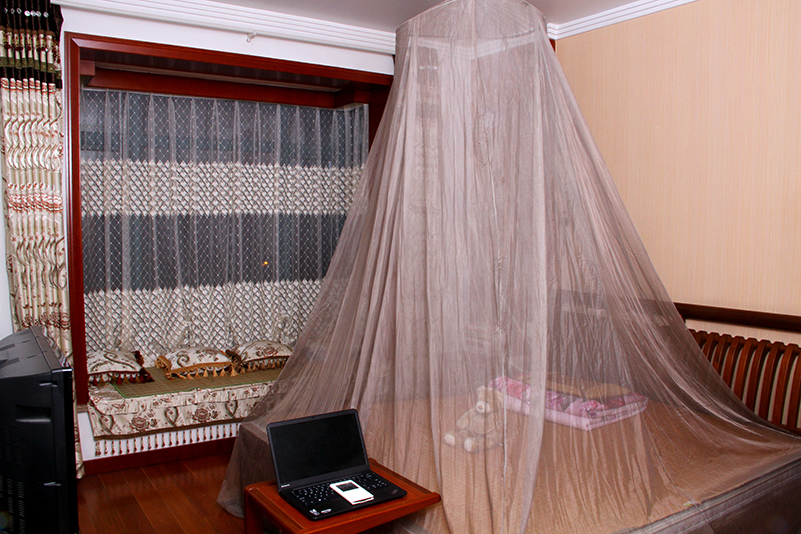 100 Silver Coated Rf Emf Shielding Canopy In Mosquito Net