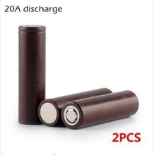 Energia do Cigarro 2 PCS Novidade 18650hg2 HG2 18650 3000 MAH DA Bateria 3.6 V Descarga 20A Eletrônico Dedicado Frete Grátis