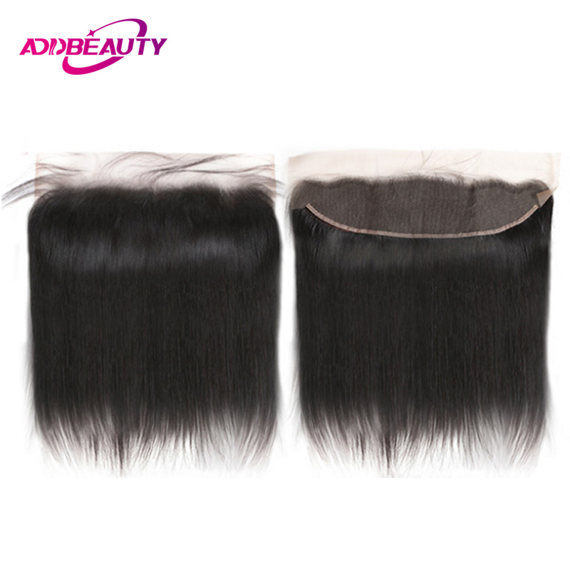 Swiss HD Transparent Bleached Knot 13x4 Lace Frontal Closure Straight Brazilian Unprocessed Virgin Human Hair Pre Plucked