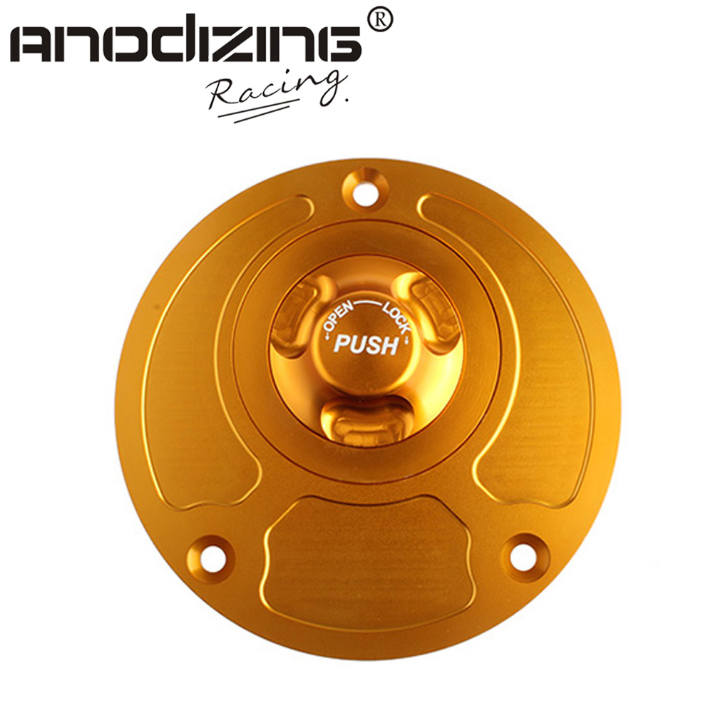 Motorcycle New CNC Aluminum Fuel Gas CAPS Tank Cap tanks Cover With Rapid Locking For YAMAHA R6 R1 FZ-6 FZ-1 YSR50 brand new motorcycle cnc rc fuel tank gas cap fit for 1996 2014 harley sportster dyna touring softtail