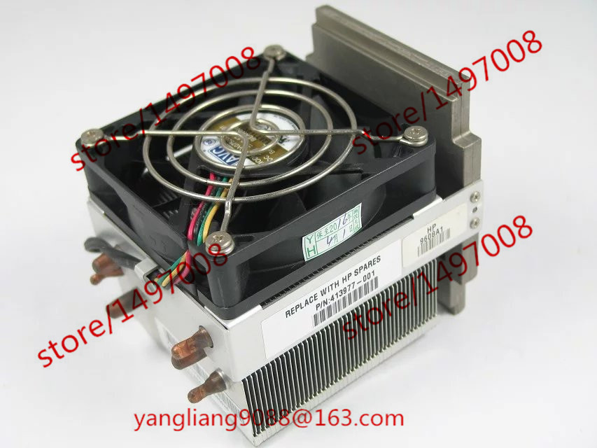 AVC 411354-001 413977-001 457876-001 ML350G5 server CPU Fan avc data1551b4l 17250 24v line server electronic enclosures fan