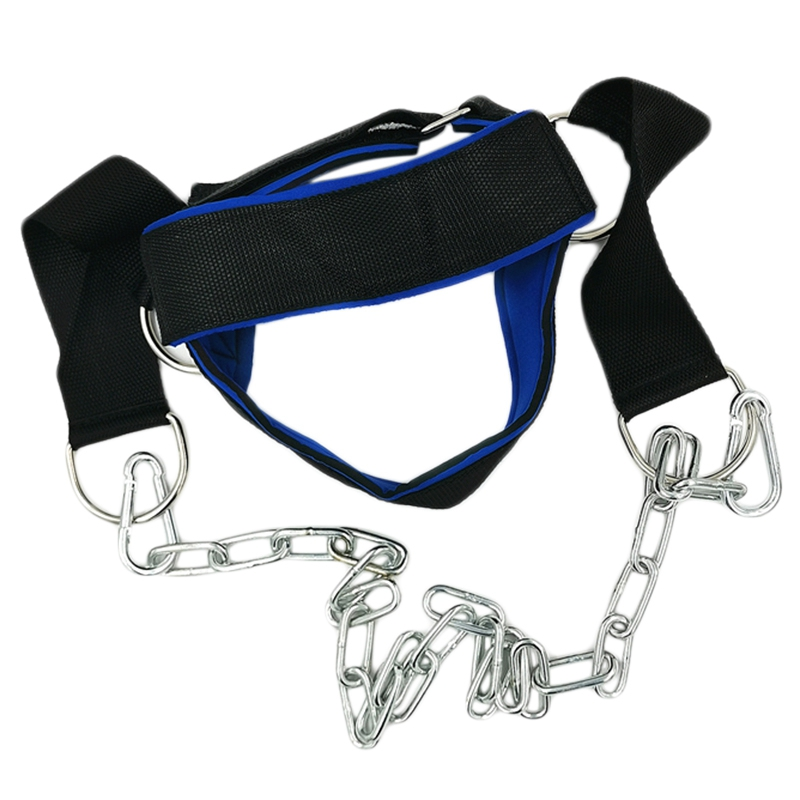 Head And Neck Trainers Weight Bearing Cap Shoulder Muscle Weight Training Fitness, With Chain