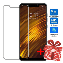 ZOKTEEC Tempered Glass For Xiaomi Pocophone F1 Mi 9 SE 8 A2 Lite Screen Protector Protective on the Film