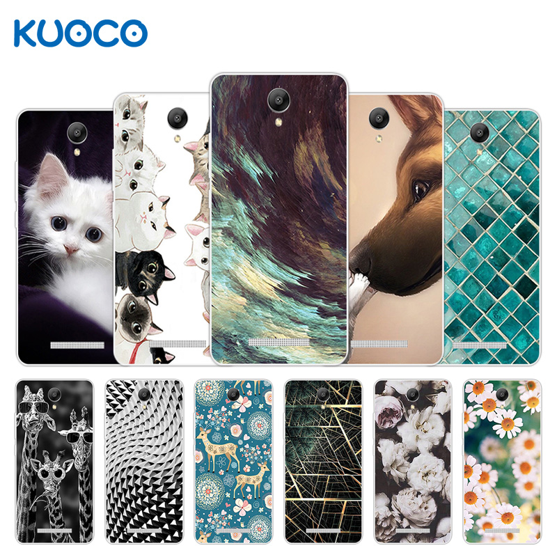 Analytical 5.5 Inch For Xiaomi Redmi Note 2 Phone Case Giraffe Design Clear Silicone Shell For Redmi Hongmi Note2 Back Soft Tpu Cover Capa Complete Range Of Articles