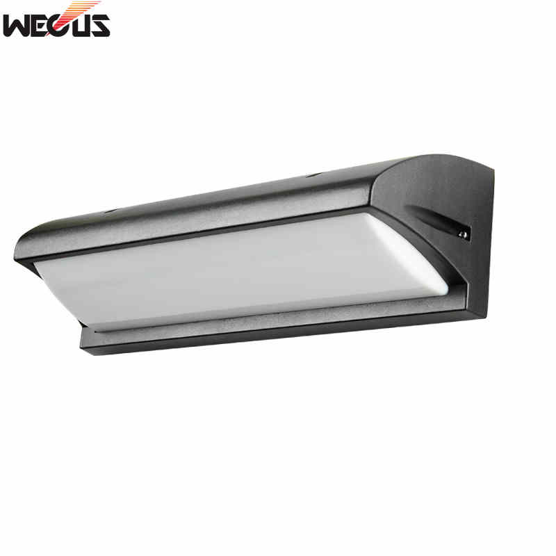 Outdoor And Indoor Dual-use Wall Lamp, Pure Aluminum Waterproof Aisle Courtyard Lights