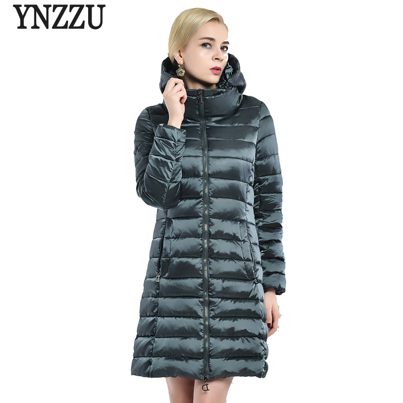 2017 New Women Winter Coat Jacket Elegant Long Warm Hooded Parka Womens Bio Down Jackets Female Overcoat High Quality AO390 women lady thicken warm winter coat hood parka overcoat long outwear jacket