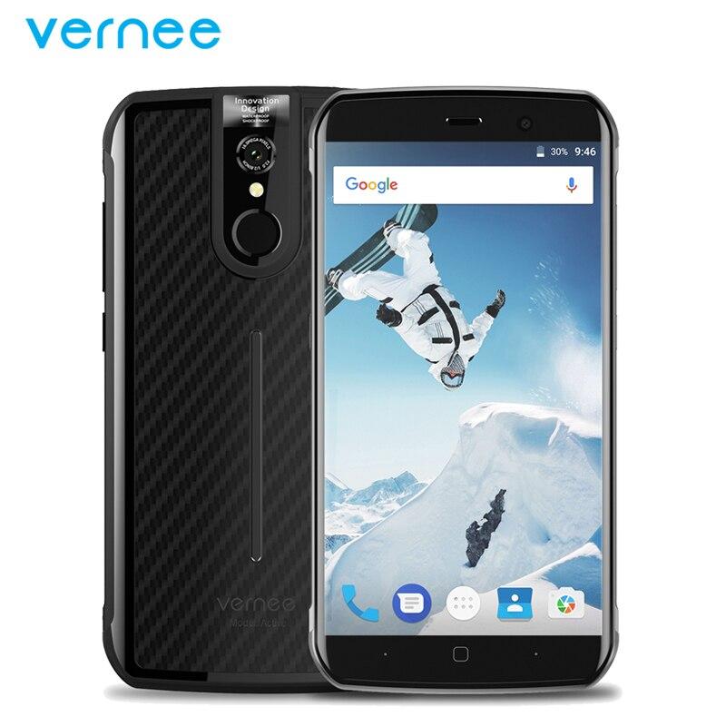 Original Vernee Active Waterproof IP68 Mobile Phone 5 5 inch 6GB RAM 128GB ROM MTK6757 Octa