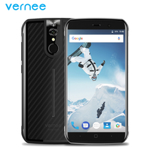 Оригинальный vernee Active Водонепроницаемый IP68 Мобильный телефон 5.5 дюймов 6 ГБ Оперативная память 128 ГБ Встроенная память mtk6757 Octa core android 7.0 4200 мАч смартфон