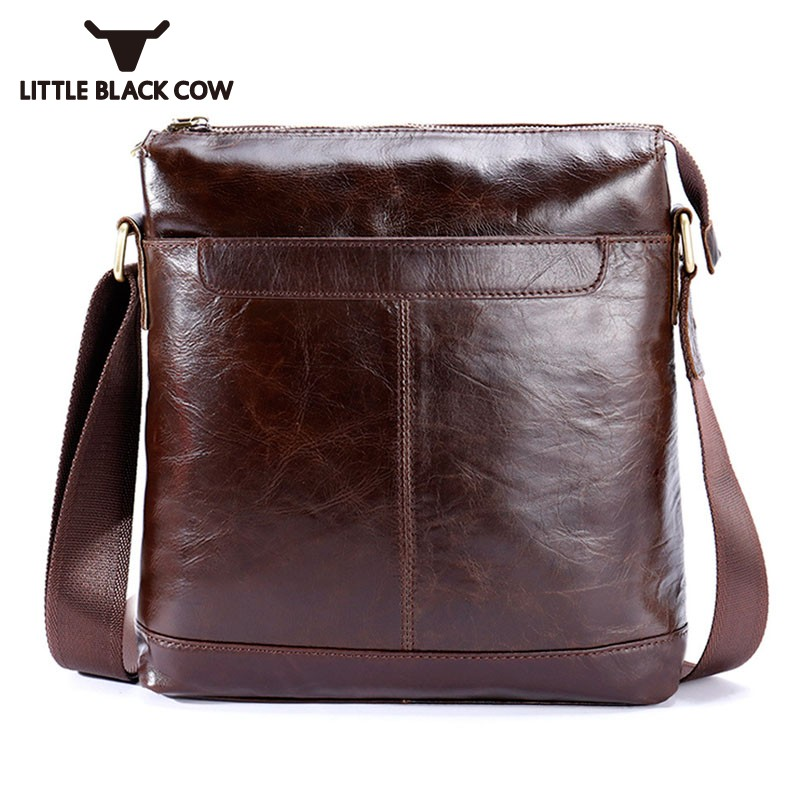 Casual Sling Bag Man British Classic Shoulder Crossbody Bags Men Brown Wear Resisting Cow Leather Messenger Bag Sacoche HommeCasual Sling Bag Man British Classic Shoulder Crossbody Bags Men Brown Wear Resisting Cow Leather Messenger Bag Sacoche Homme