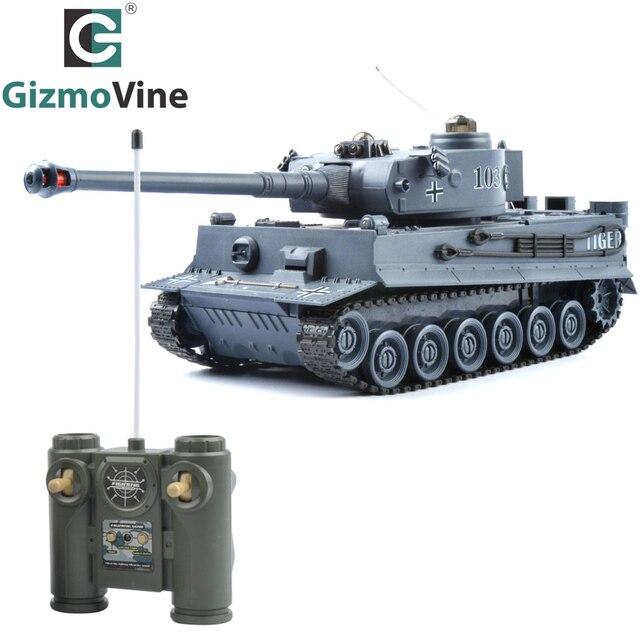 Gizmovine Р/У танки Германия Тигр 103 борьба боевой танк Радиоуправляемые игрушки с музыкальным и мигает для детей дети мальчик подарок