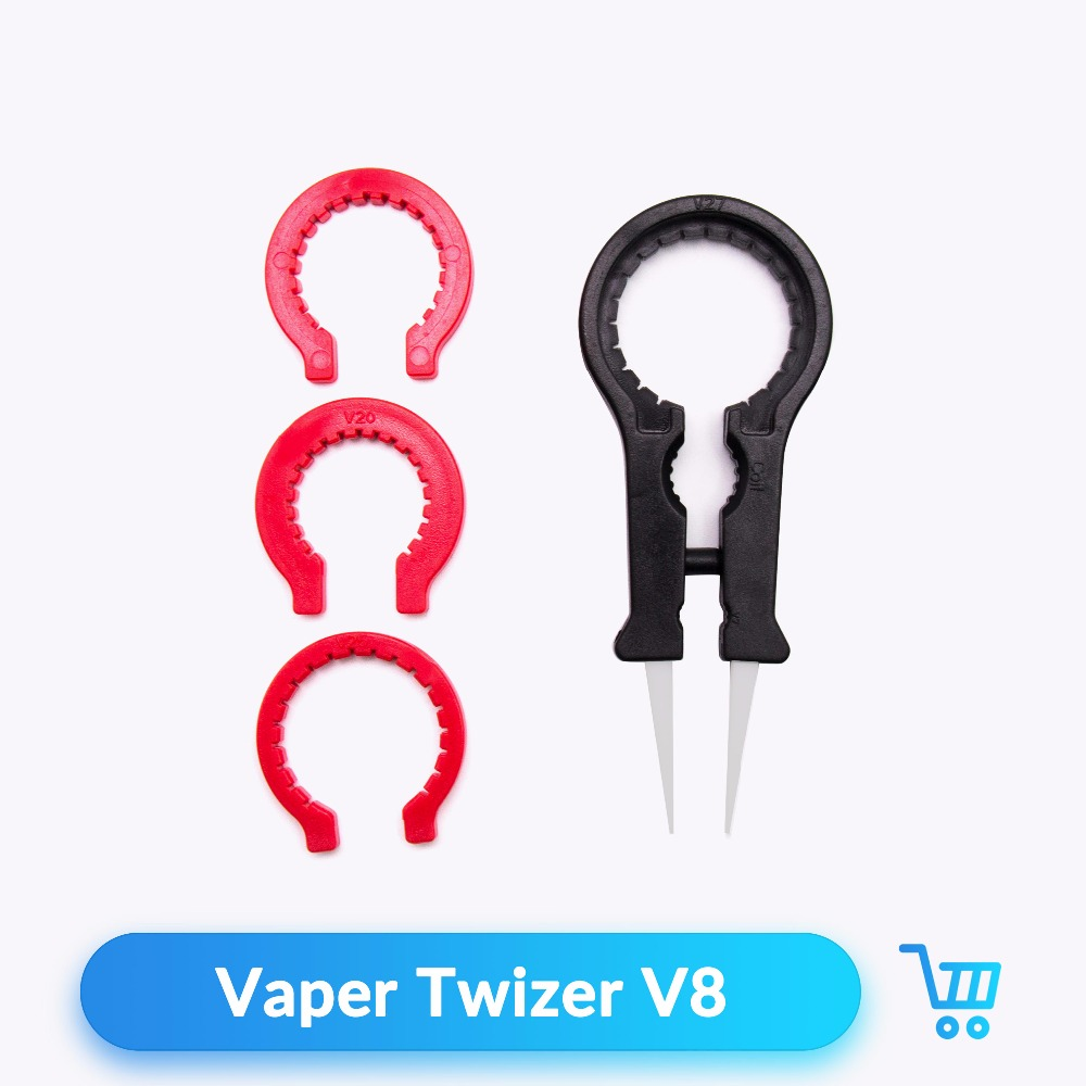 Quartz Banger Vaper Twizer V8 Ceramic Tweezer DIY Tool Kit for Electronic  Cigarettes Rebuildable Atomizer Accessories Vaporizer