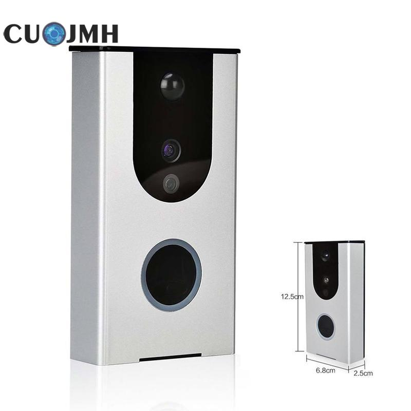 Smart WIfi Wireless Doorbell Camera 720P Doorbell Video WiFi Support Mobile Remote Intercom Security Alarm Doorphone