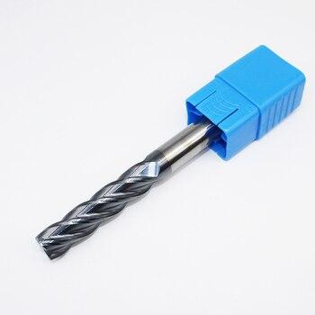 1PCS HRC50 14mm Solid Carbide Endmills D14X45LXD14X150L 4Flute Standard Length Slotted Face Mills