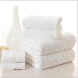 Free shipping!wholesale 35*80cm 5pcs/lot 100% cotton hotel dedicated bleaching face towel /face cloths/washer towel/hand towel