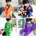 Anime Dragon Ball Z de los niños Chicos Son Goku Disfraces de Halloween Niños de Disfraces Cosplay kimono Japonés pijamas 011506