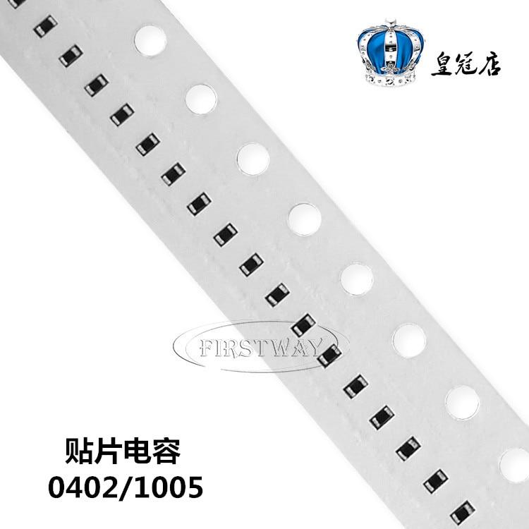 100 SMD capacitor de cerâmica 0402 1005 uf 10 pçs/lote 10 v 106 k 10% K arquivo X7R original 10 uf /10 v
