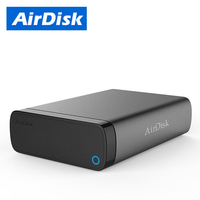 AirDisk Q3C NAS Storage and DIY Personal Cloud Remote Access Network HDD Enclosure Build your Own (Non include the Hard disk)