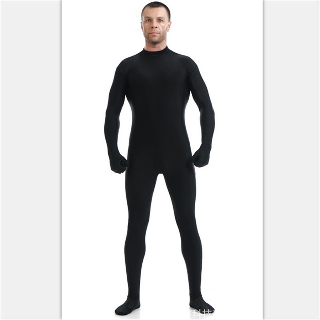 high quality lycra zentai suits no hood skin tight leotard halloween costumes anime stage show mens